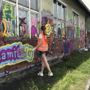 Mami-Check: Mural Harbour Linz