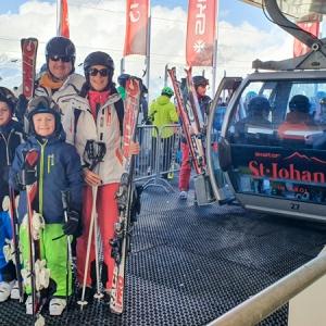 Mami-Check: Skifahren in St. Johann in Tirol