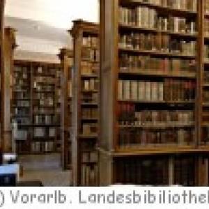Vorarlberger Landesbibliothek in Bregenz