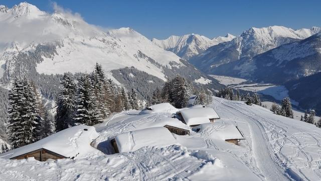 Winterwanderung zur Bernhardseck-Hütte in Elbigenalp