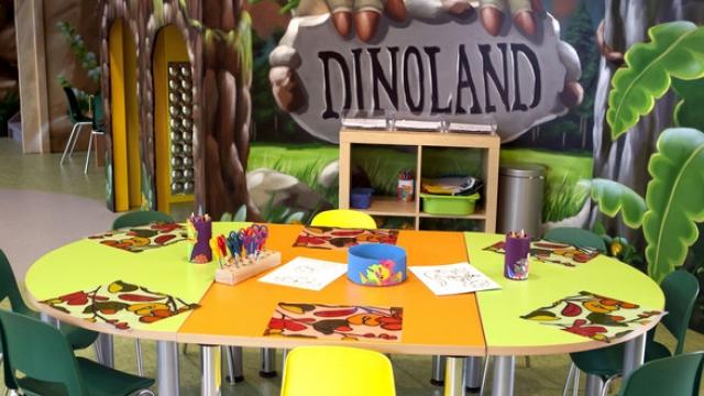 Das Dinoland im Designer Outlet Salzburg