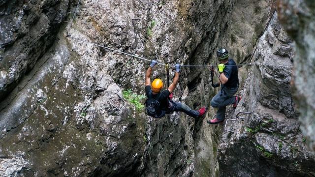 Symbolfoto Klettersteig Gerlossteinwand zwischen Zell und Gerlos