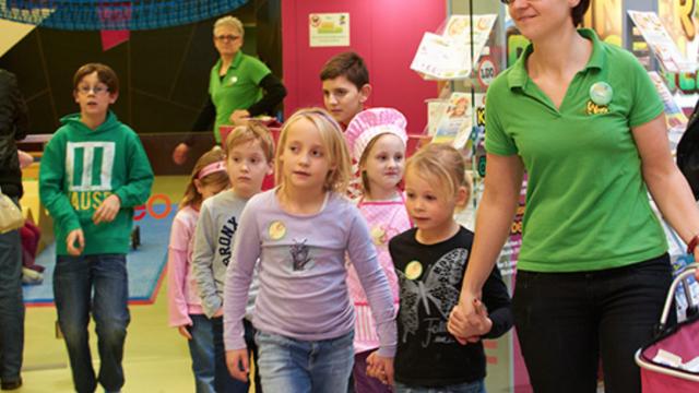 Profesionelle Kinderbetreuung im EKZ EO in Oberwart