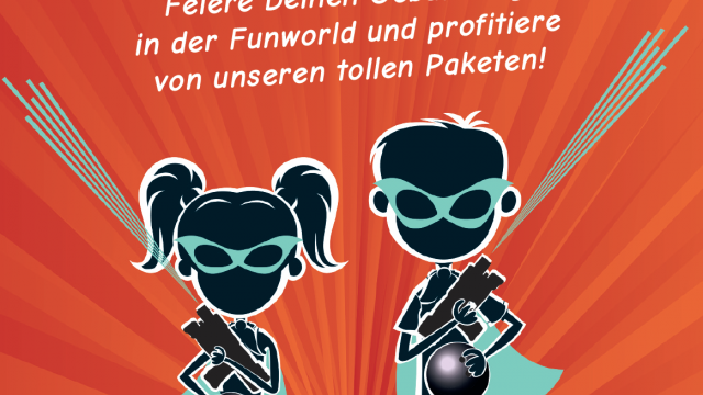 Kindergeburtstag in der Funworld Hard