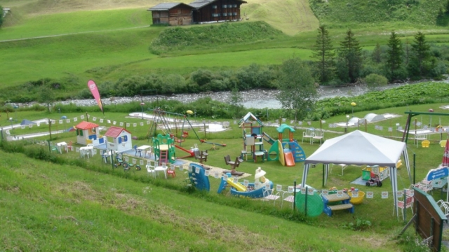 Familienspielpark Buxbaum in Lech