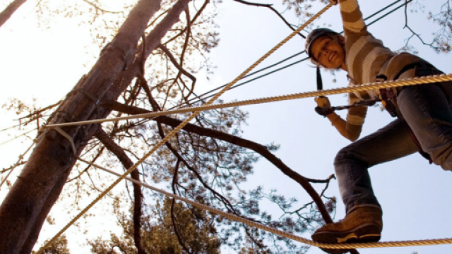 Anif Kletterpark Waldbad Kindergeburtstag