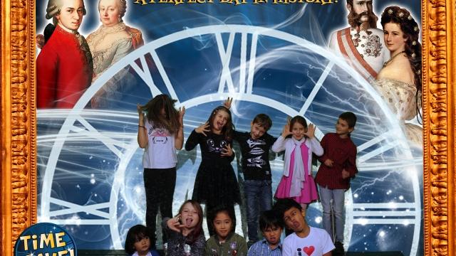 Kindergeburtstag im Time Travel Vienna