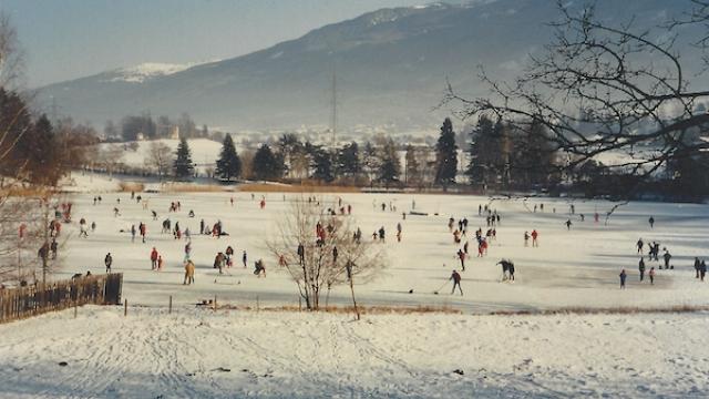 Lansersee Eislaufen