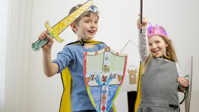 Kreativer Kindergeburtstag mit myDinoBox