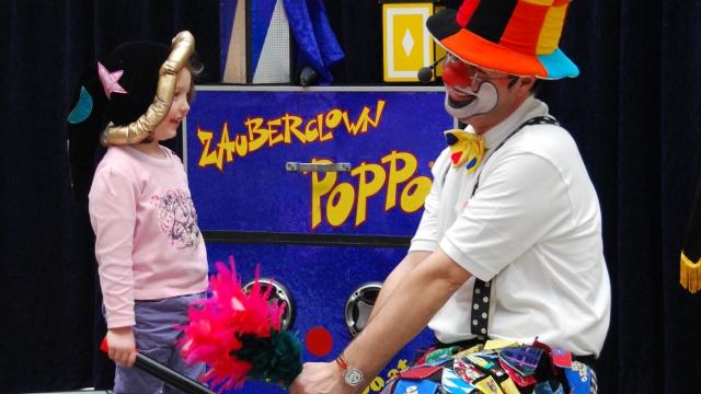 Zaubershow Poppo